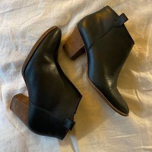 Madewell Billie Ankle Boots Black